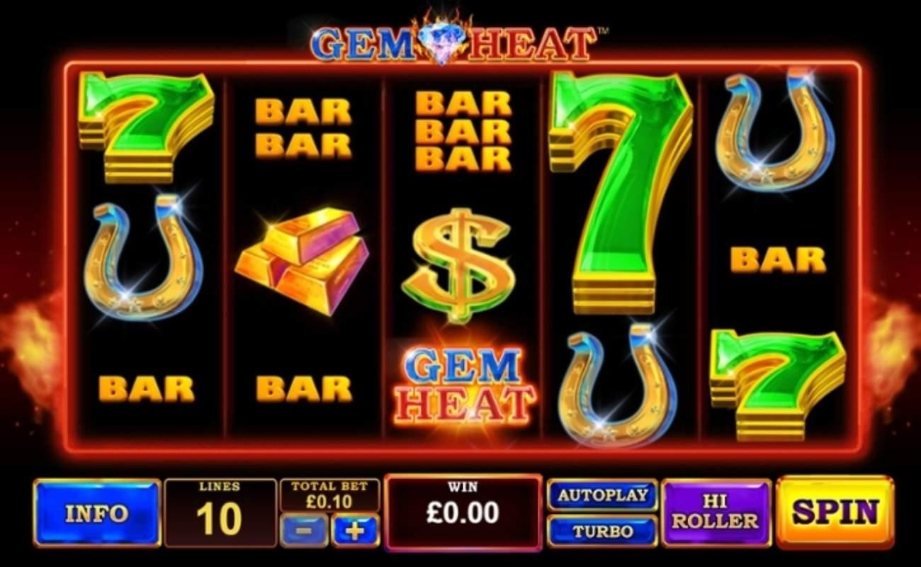 Gem Heat online slot by Playtech