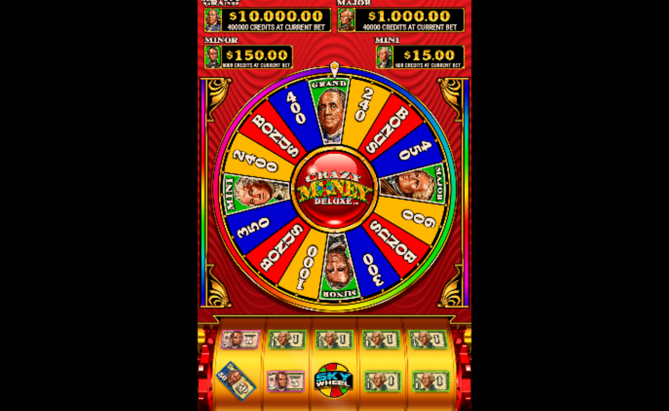 Crazy Money Deluxe online slot by Spin Games