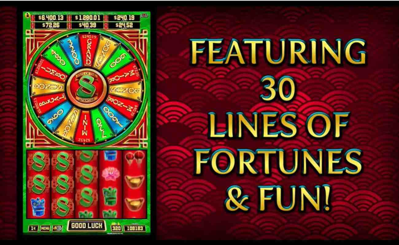 Fate of the 8 Power Wheel online slot by Spin Games