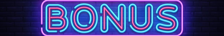 Bonus neon sign