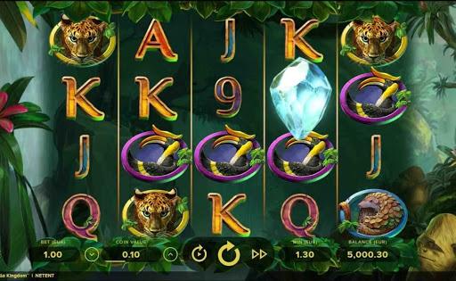 Gorilla Kingdom online slot by NetEnt.