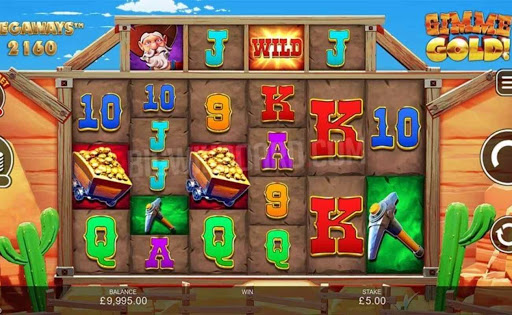 Gimme Gold! Megaways online slot by Inspired Gaming.
