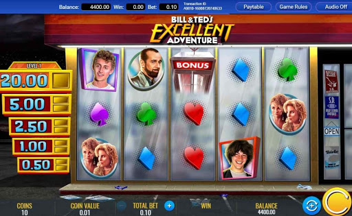 Bill & Ted's Excellent Adventure online slot by IGT.