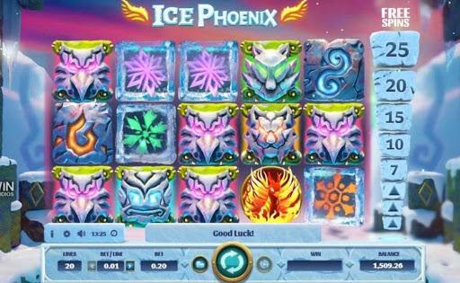 Ice Phoenix online slot by GVC.