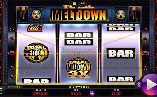 Total Meltdown online slot by Everi.