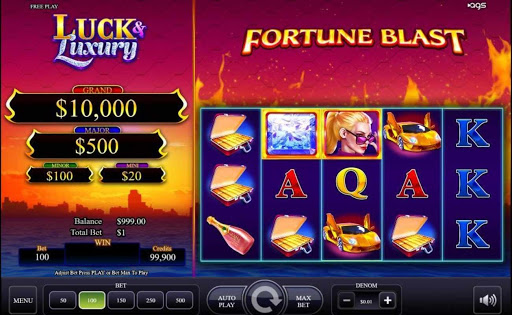Luck & Luxury online slot by AGS.