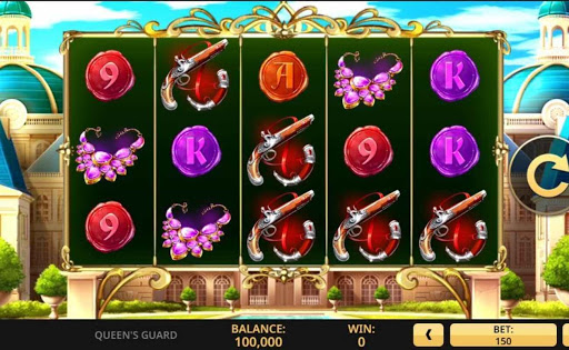 Queen's Guard online slot by High 5 Games.