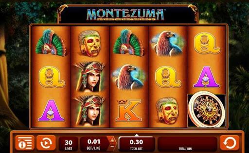 Montezuma online slot by NYX.