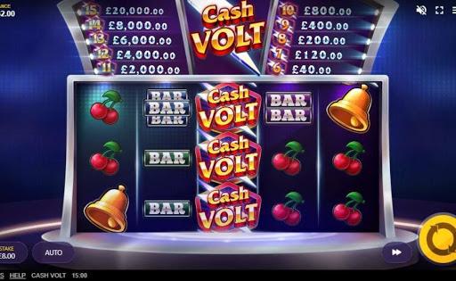 Cash Volt online slot by Red Tiger.