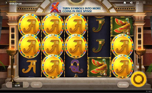 Wings of Ra online slot by Red Tiger.