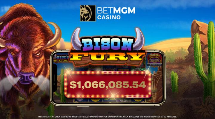 BetMGM Casino Player in Michigan Wins $1M Progressive Jackpot