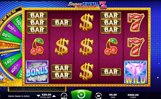 Super Crystal 7s online slot by Ainsworth.