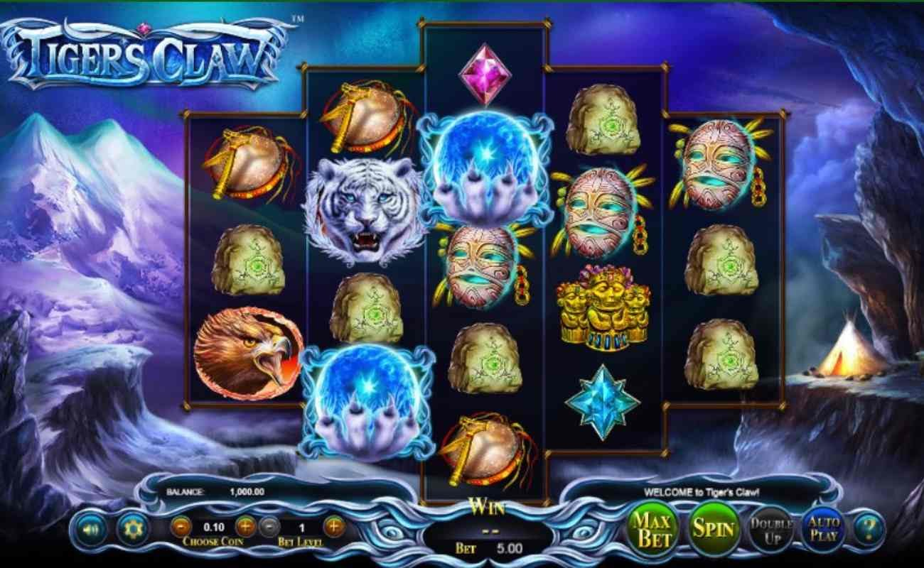 Tiger's Claw online slot by Playtech.