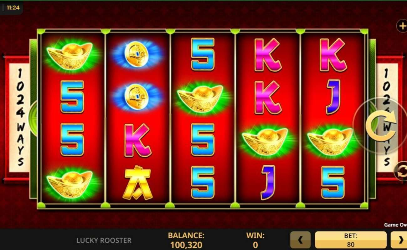 Lucky Rooster online slot by High 5 Games.