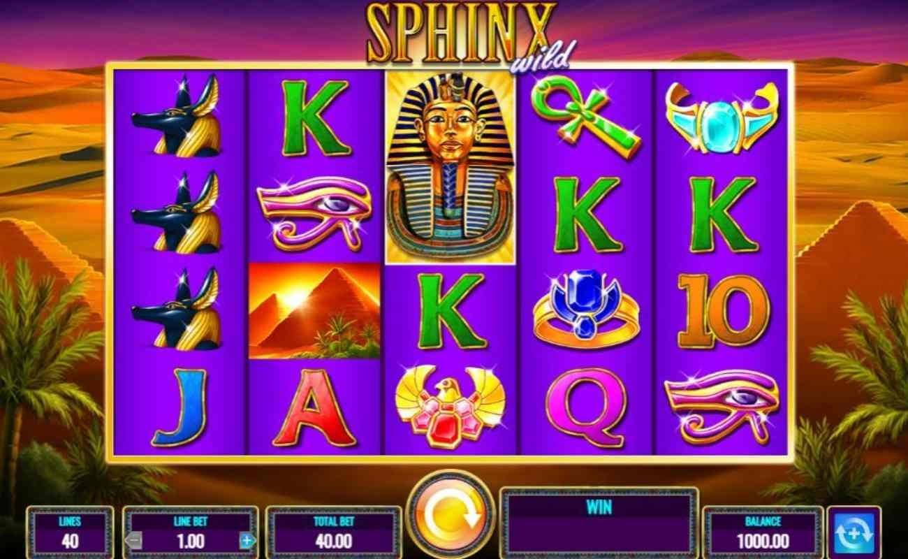 Sphinx Wild online slot by IGT.