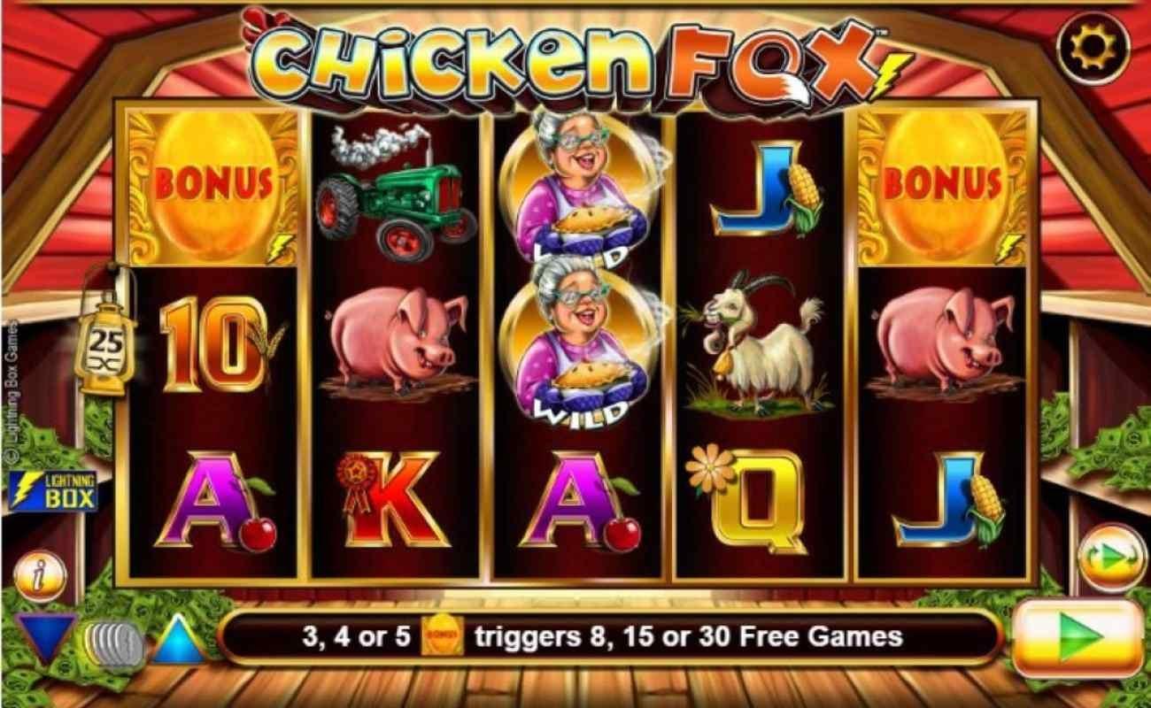 Chicken Fox online slot by Lightning Games.