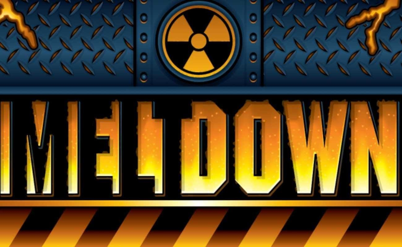 Meltdown online slot by Everi.