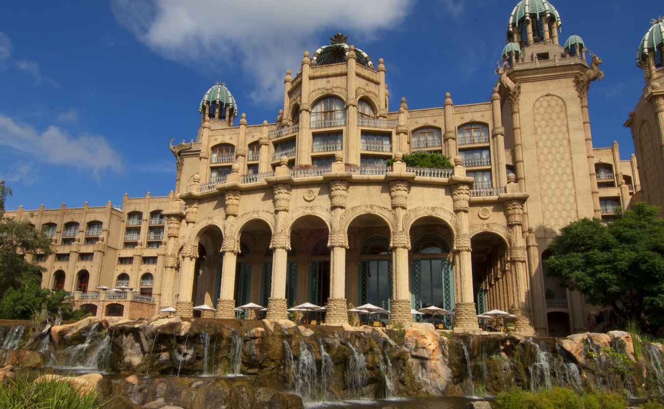 The Palace Hotel at Sun City, North West Province, South Africa.