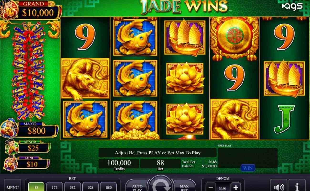 Jade Wins online slot by AGS.