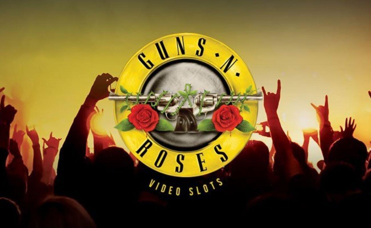 Guns N' Roses online slot by NetEnt.