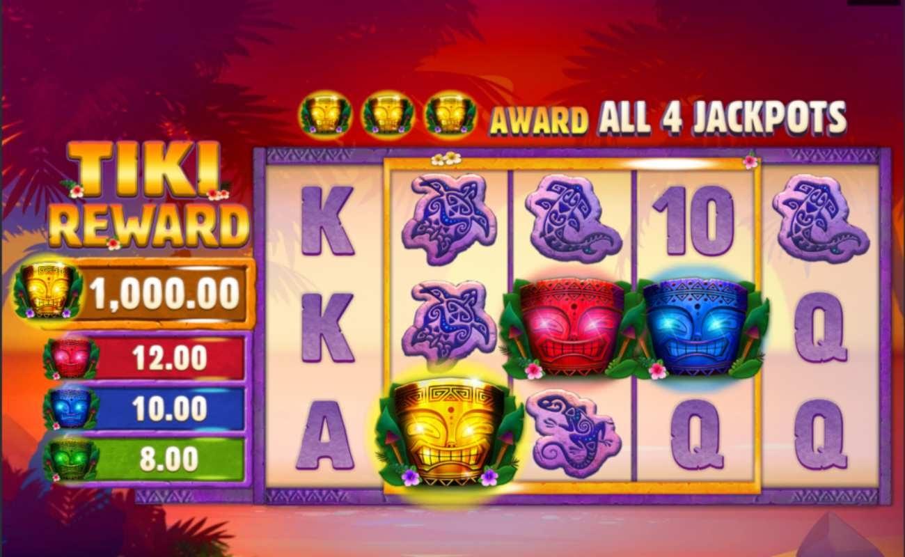 Tiki Reward online slot by Microgaming