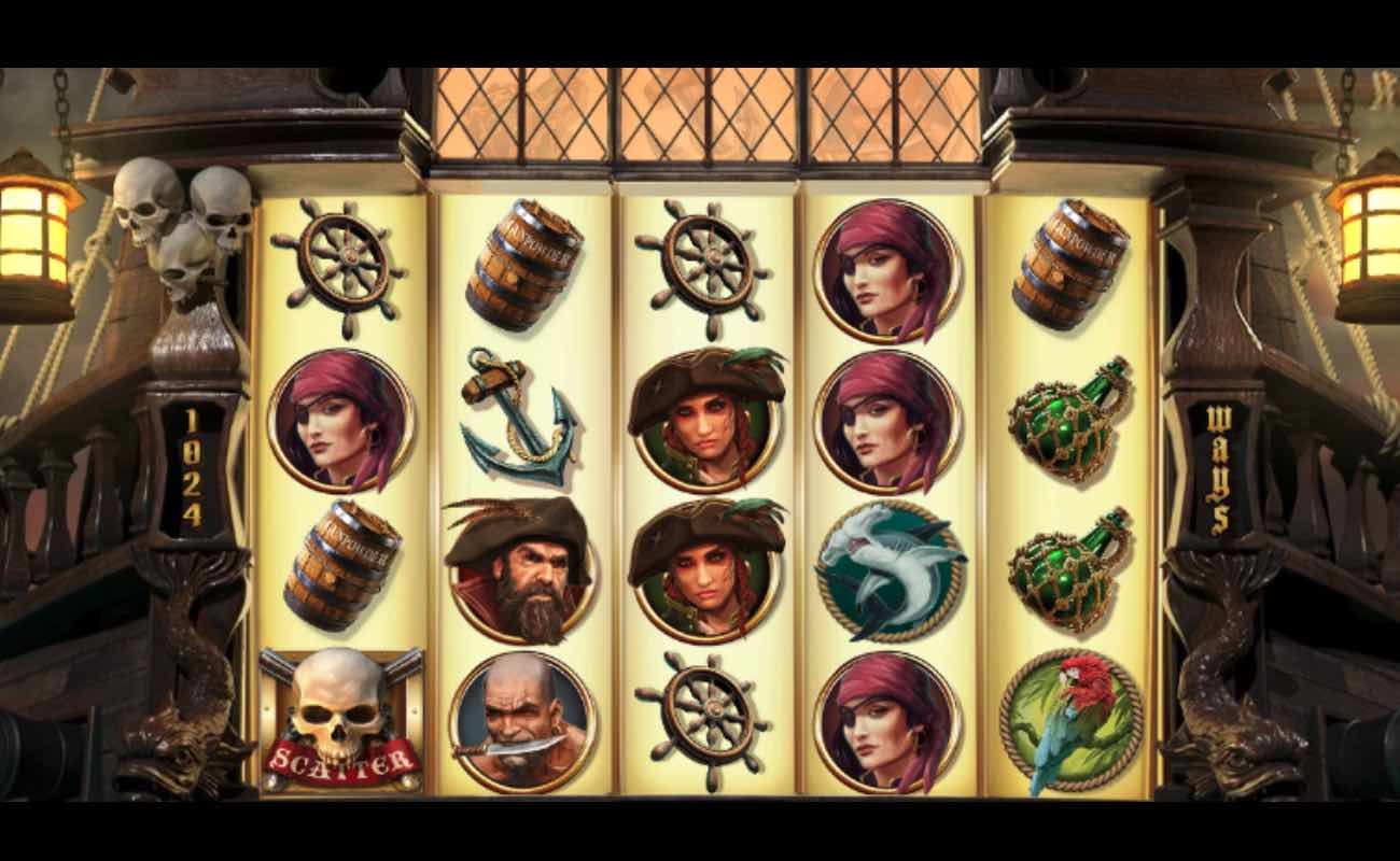 Rage of the Seas online slot game by NetEnt.