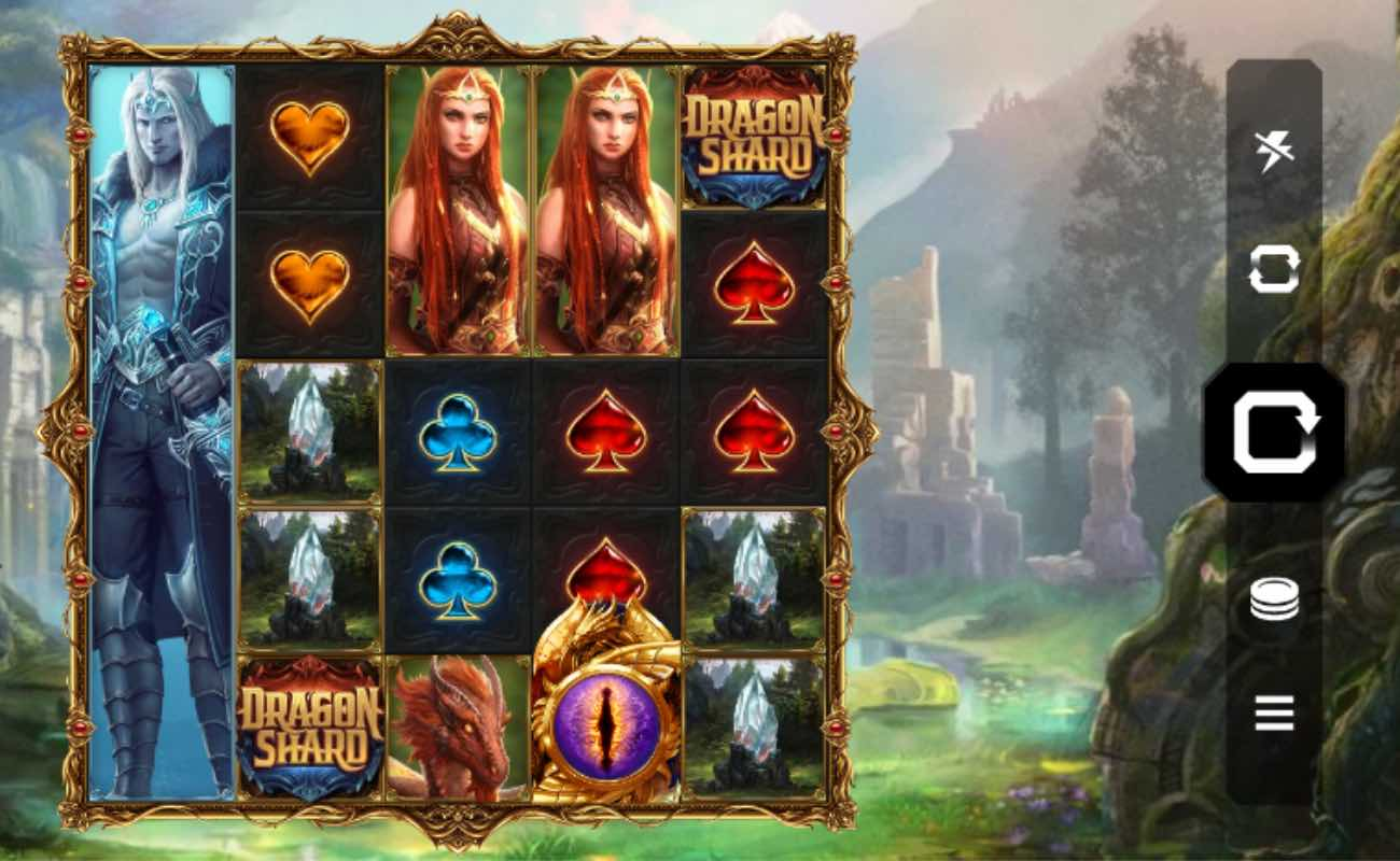 Dragon Shard online slot game.