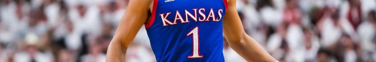 Kansas Jayhawks basketball team jersey #1