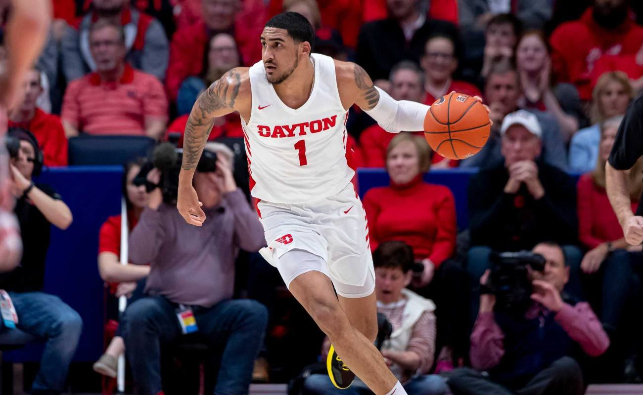 Obi Toppin #1 of the Dayton Flyers during game against the Davidson Wildcats at UD Arena