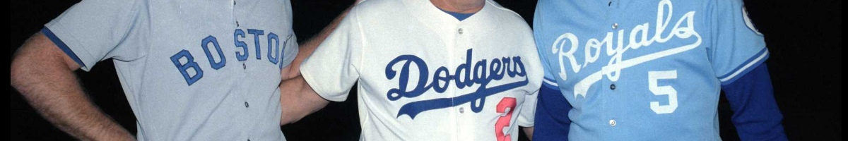 Wade Boggs of the Boston Red Sox, Tommy Lasorda manager of the Los Angeles Dodgers from 1976-1996