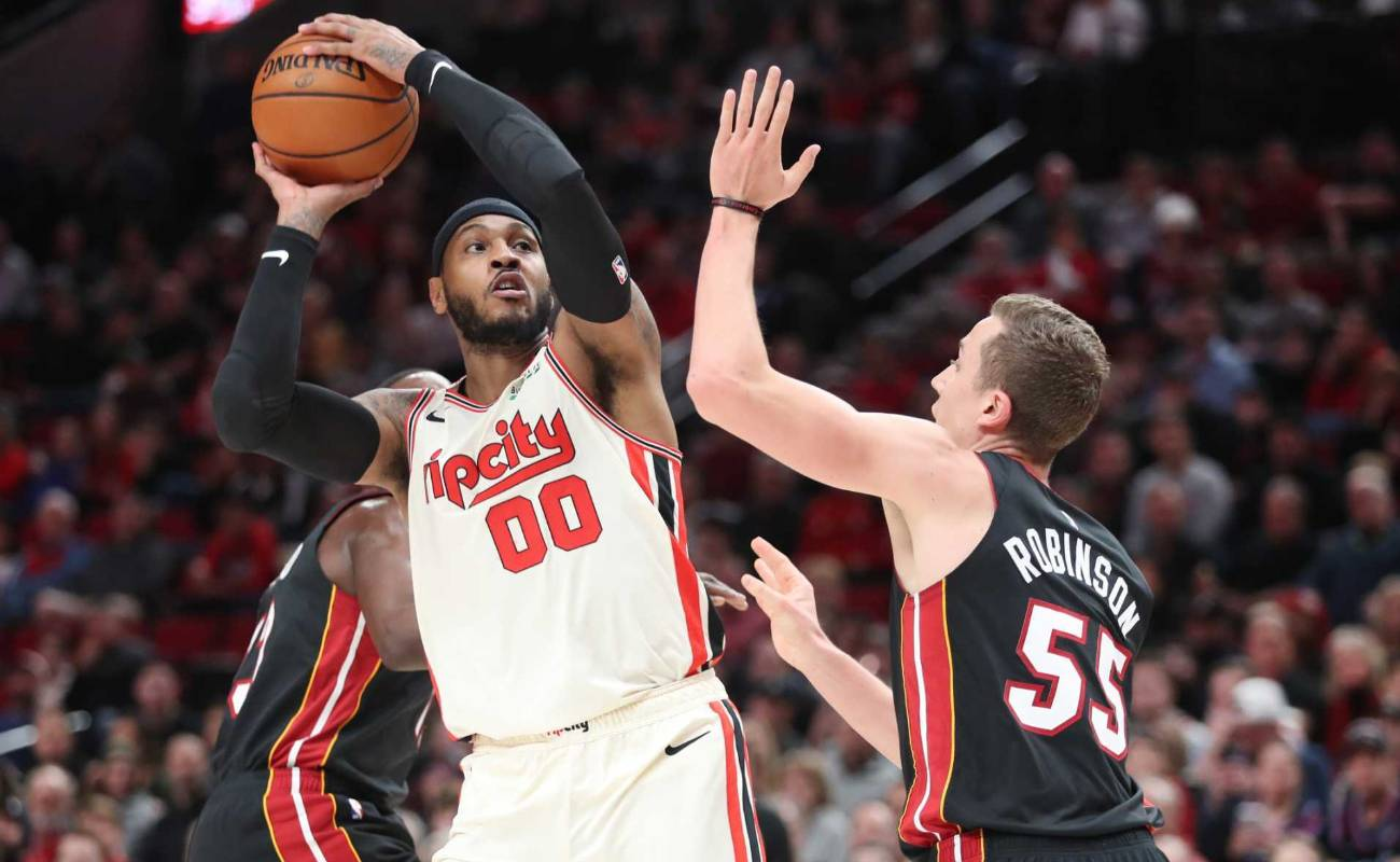 Carmelo had appeared in an NBA game when he signed with the Trail Blazers, he has always proved to be an amazing athlete and player