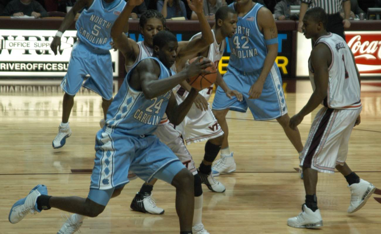 Marvin Williams, a North Carolina men's basketball player