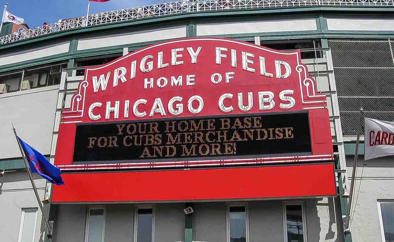Chicago, IL USA - Wrigley Field