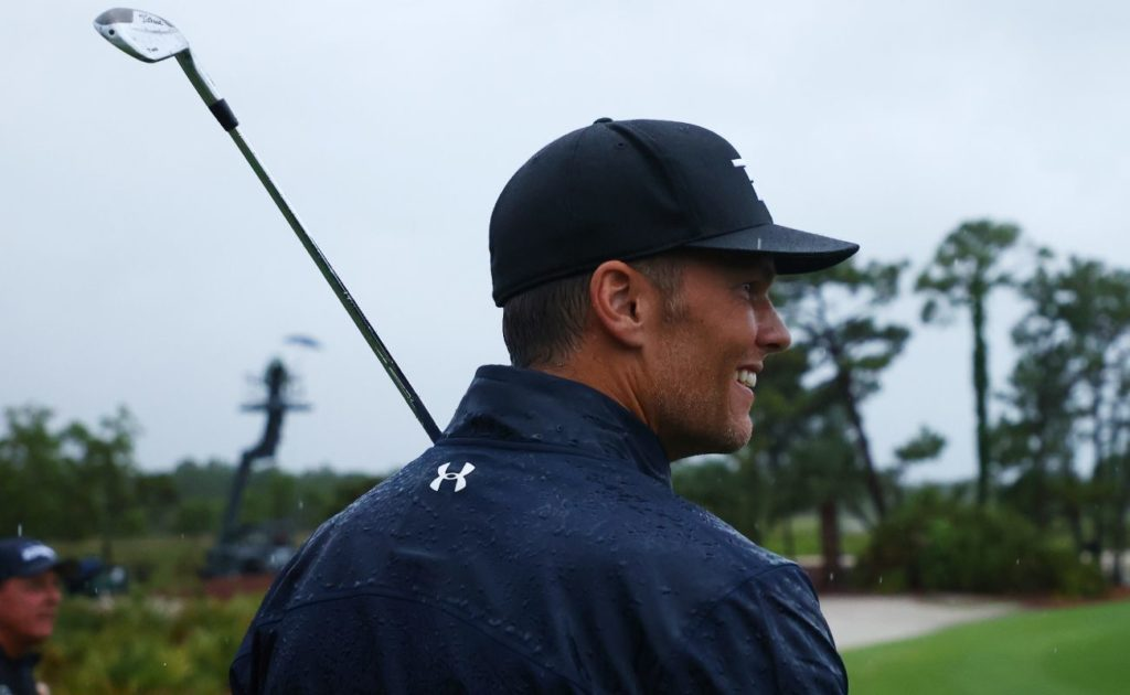 Tom Brady during The Match: Champions For Charity at Medalist Golf Club 2020