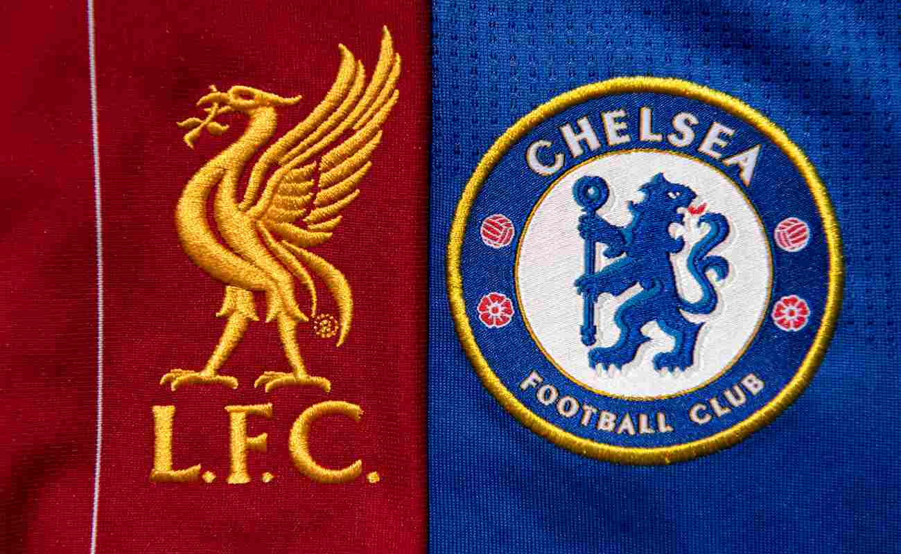 Liverpool and Chelsea badges