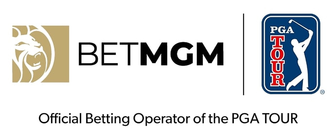 PGA Tour logo next to the BetMGM logo