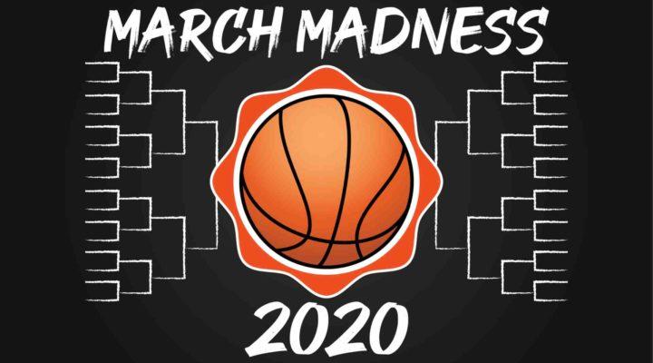 College basketball tournament 2020 logo.