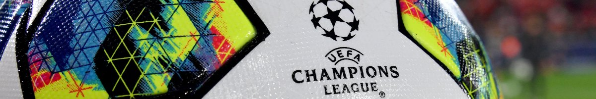 UEFA Champions League match ball with logo