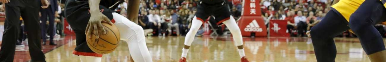 Danuel House Jr. of Houston Rockets against Derrick Favors of Utah Jazz on December 17, 2018