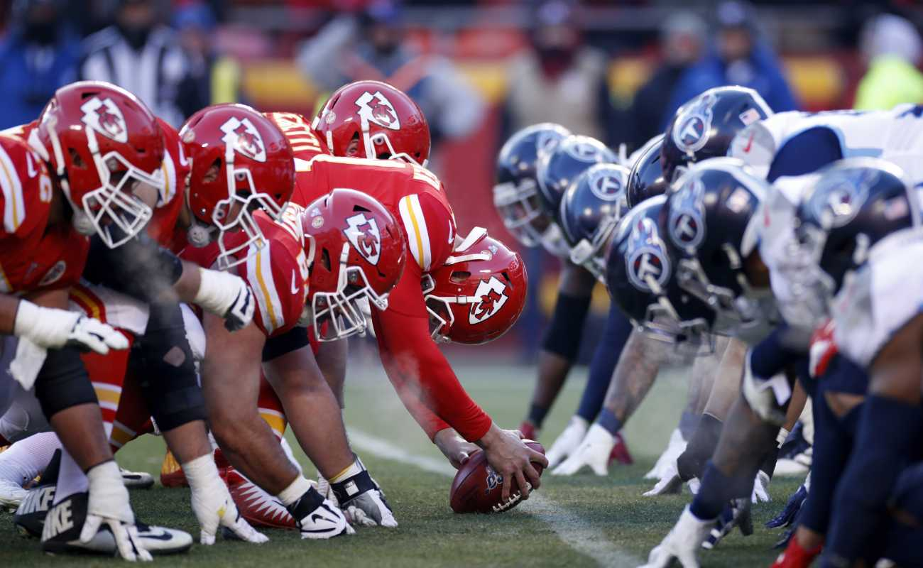 Tennessee Titans against Kansas City Chiefs at AFC Championship Game on January 19, 2020