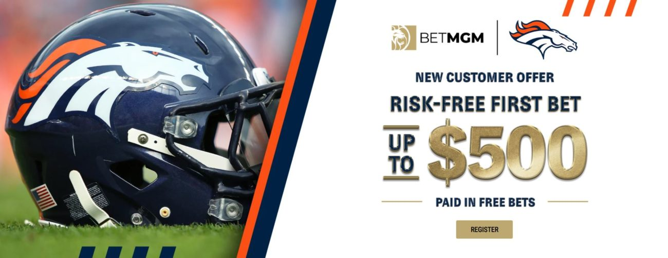 Risk-free first bet for new customers offer banner