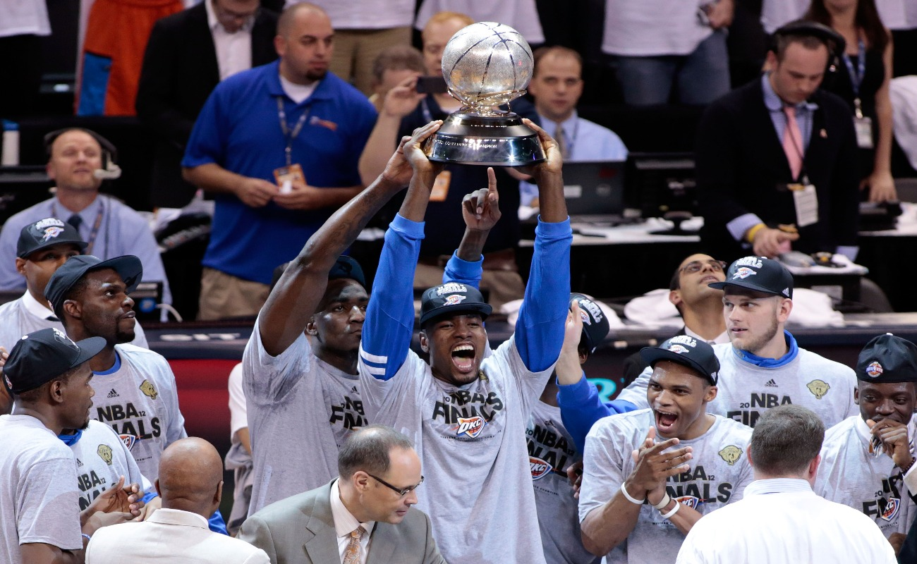 The Western Conference Finals Trophy