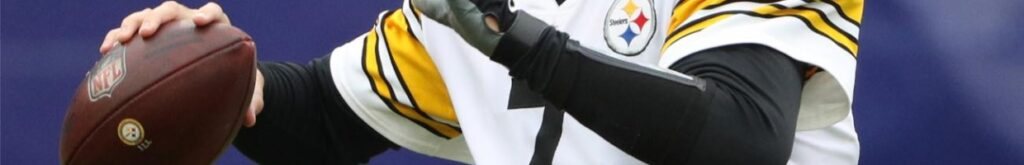 Ben Roethlisberger of Pittsburgh Steelers against the Baltimore Ravens at M&T Bank Stadium November 2020