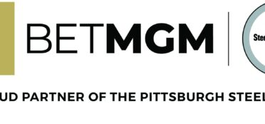 BetMGM and Steelers logos next to each other