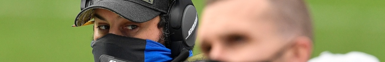 Head coach Matt Patricia of the Detroit Lions looks on during the first half against the Carolina Panthers at Bank of America Stadium on November 22, 2020 in Charlotte, North Carolina. (Photo by Grant Halverson/Getty Images)