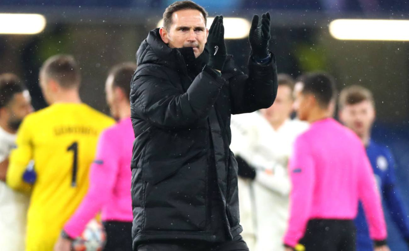 Chelsea Manager Frank Lampard Claps After His Side Won Their Game - Photo By Chloe Knott