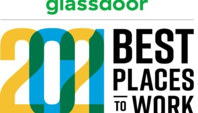 Glassdoor 2021 Best Places to Work Award logo