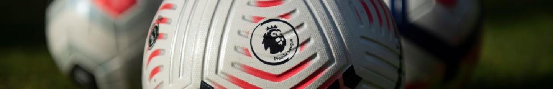 The Premier League Logo on a Matchday Ball - Photo Credits: Visionhaus