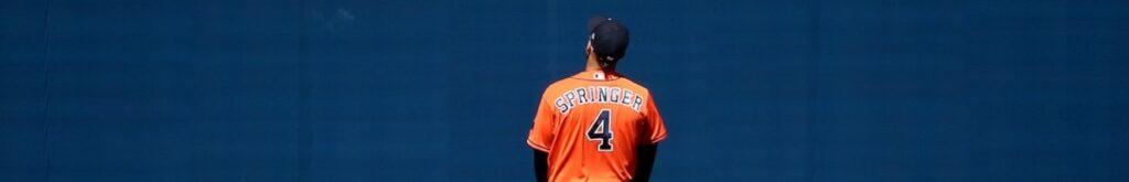 George Springer Astros