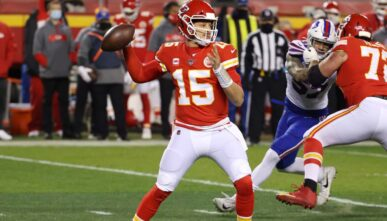 Patrick Mahomes Chiefs Super Bowl Betting